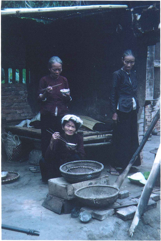 Local villagers in hamlet outside of An Loc 1967